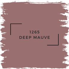 Benjamin Moore 1265 Deep Mauve