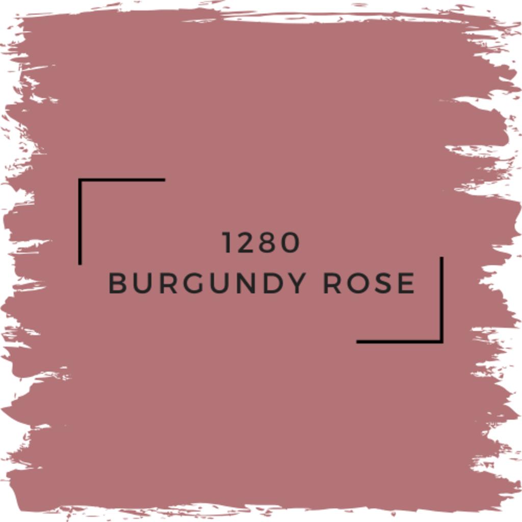 Benjamin Moore 1280 Burgundy Rose