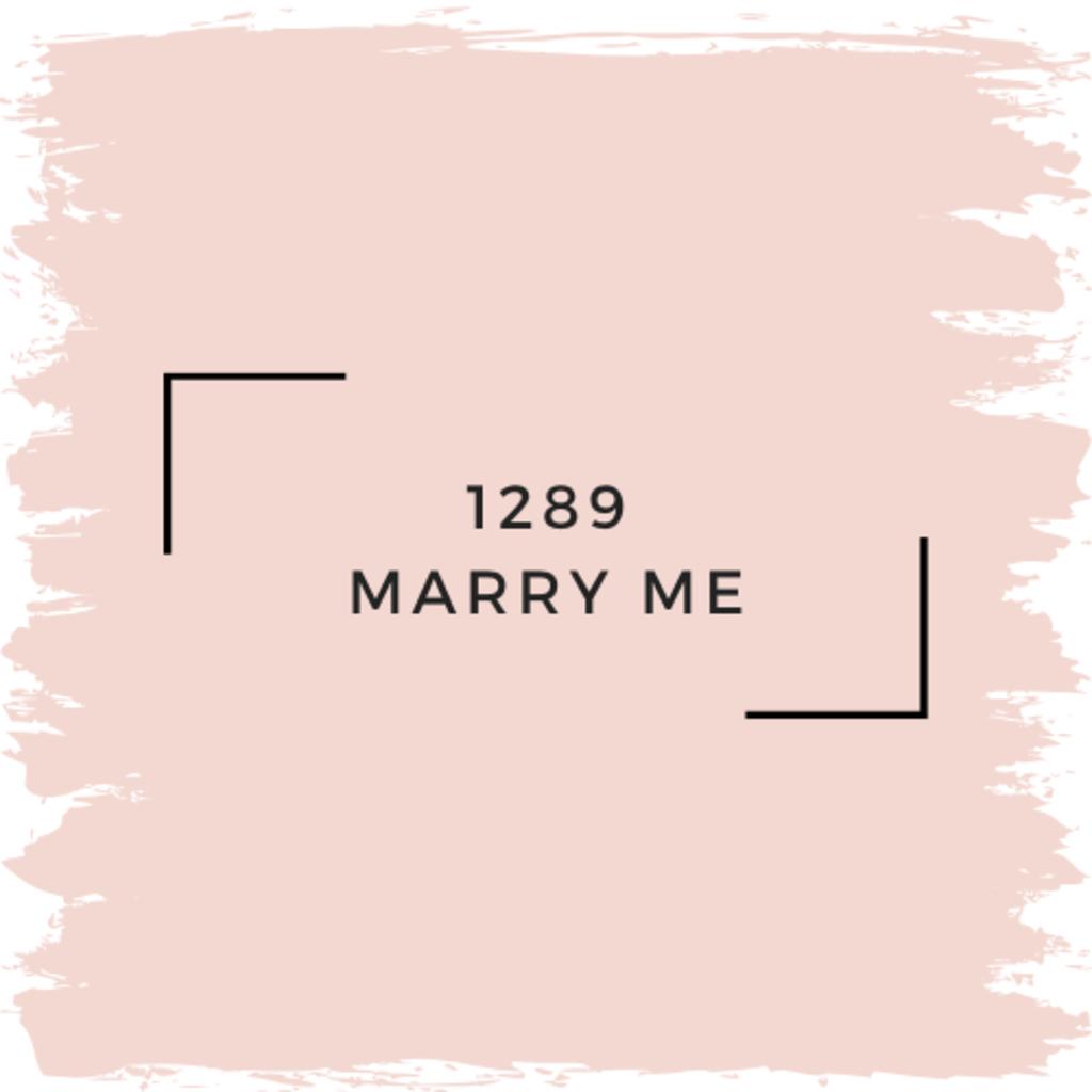 Benjamin Moore 1289 Marry Me