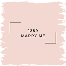 Benjamin Moore 1289 Marry Me