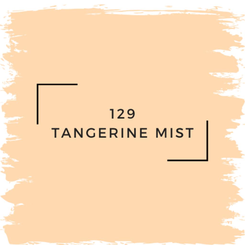 Benjamin Moore 129 Tangerine Mist
