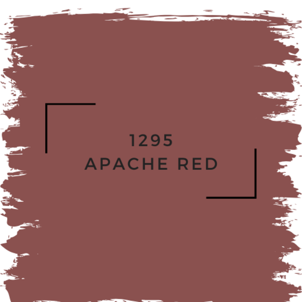 Benjamin Moore 1295 Apache Red