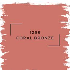 Benjamin Moore 1298 Coral Bronze