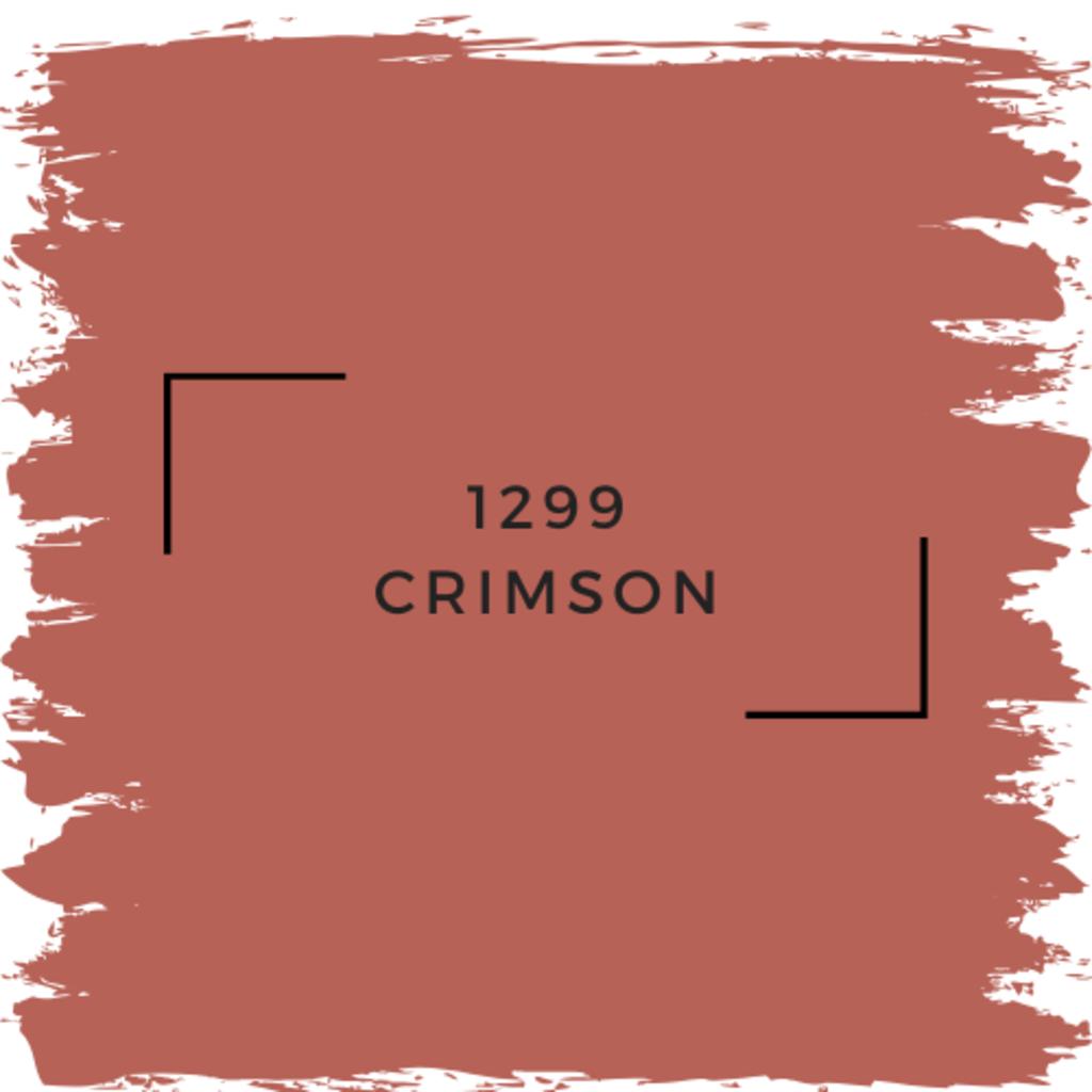 Benjamin Moore 1299 Crimson