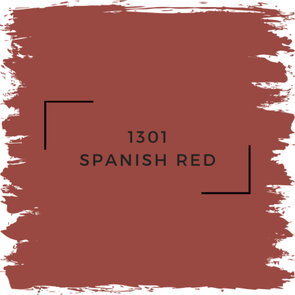 Benjamin Moore 1301 Spanish Red