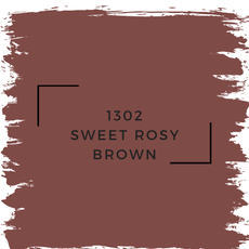Benjamin Moore 1302 Sweet Rosy Brown