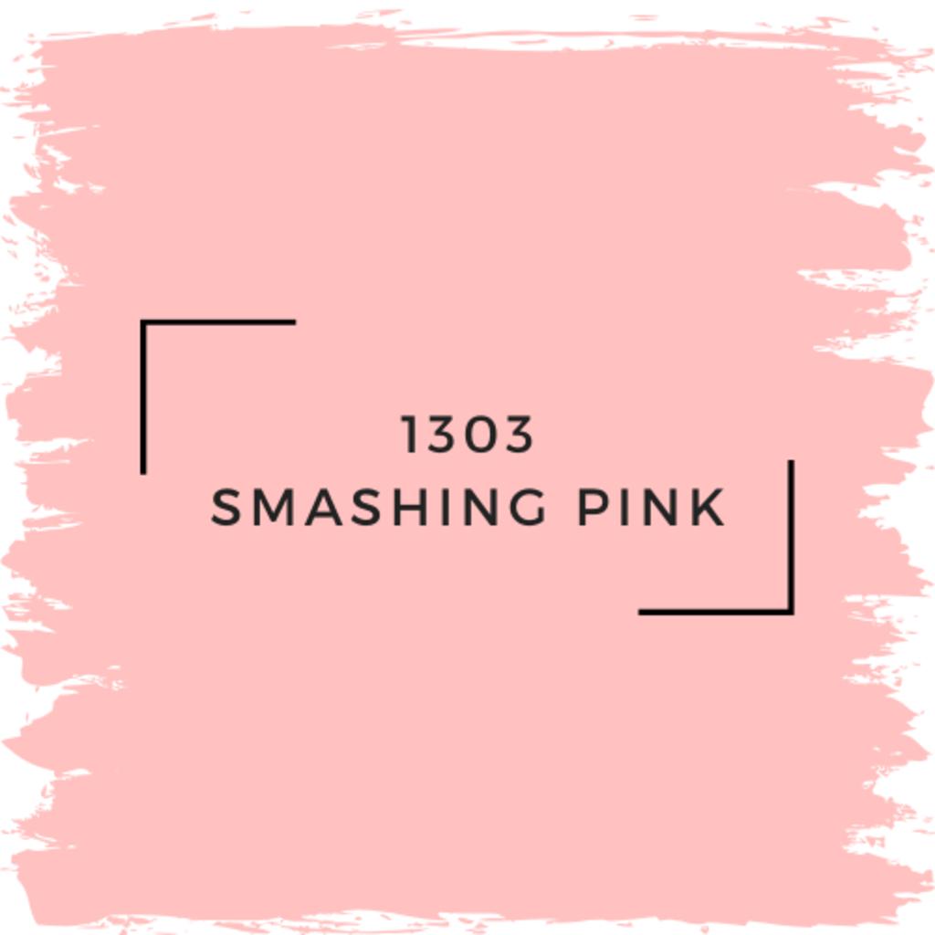 Benjamin Moore 1303 Smashing Pink
