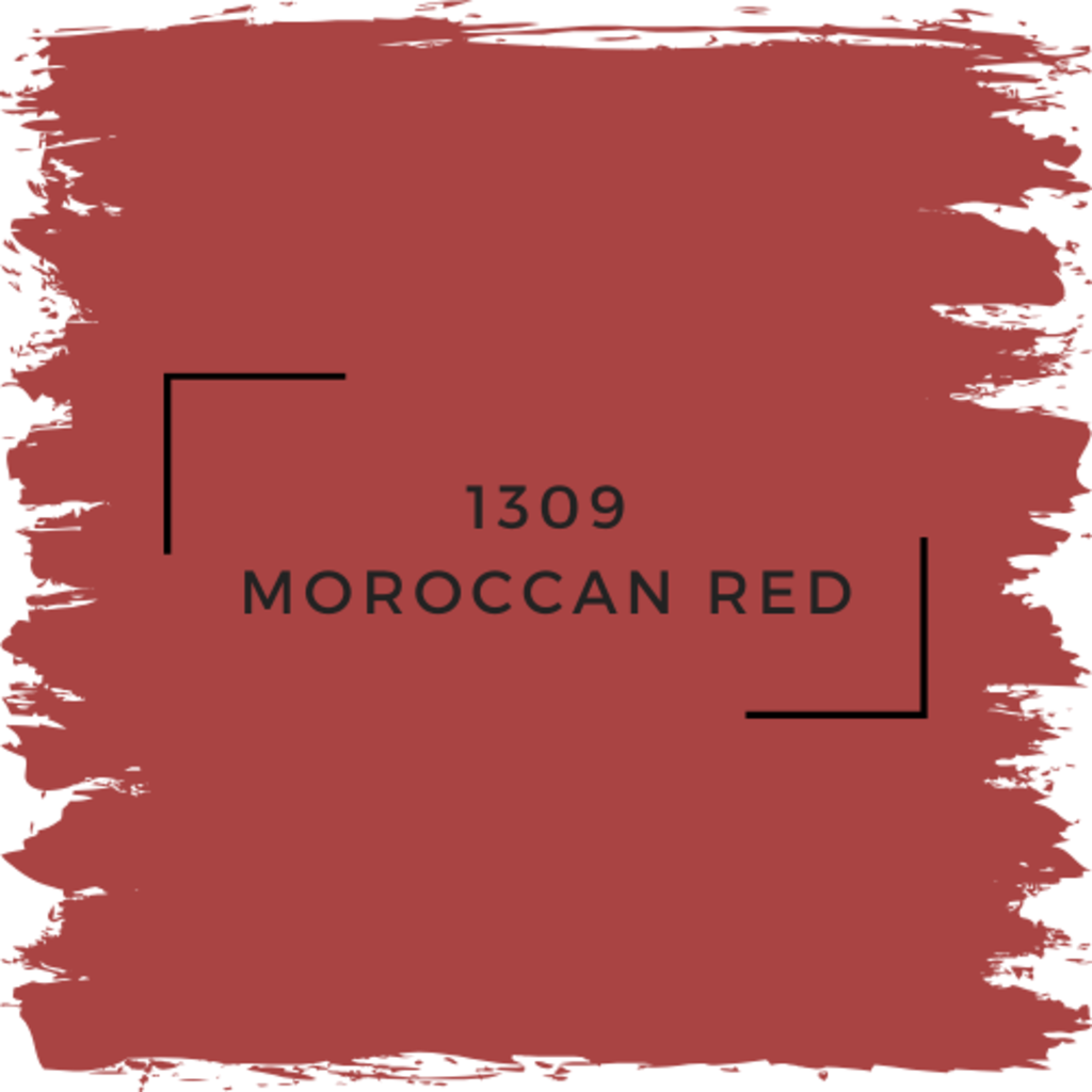 Benjamin Moore 1309 Moroccan Red