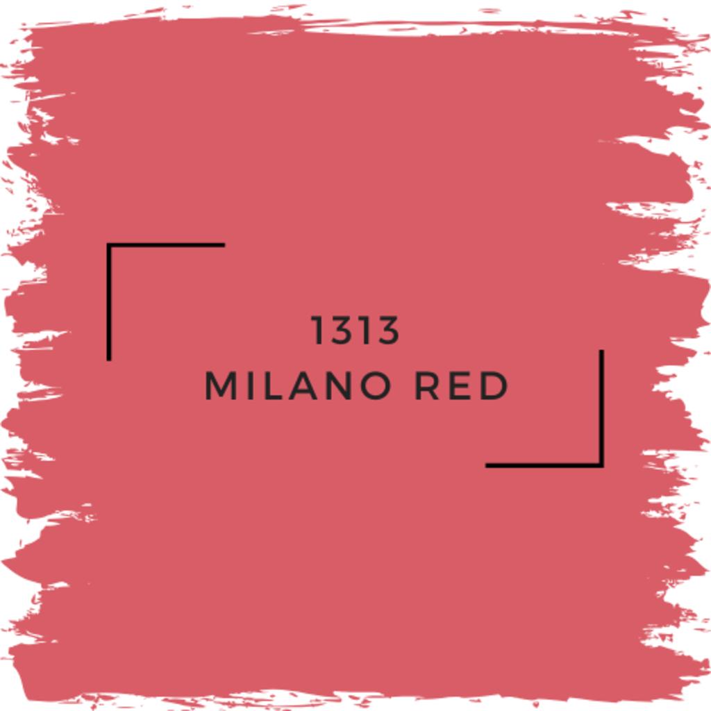 Benjamin Moore 1313 Milano Red