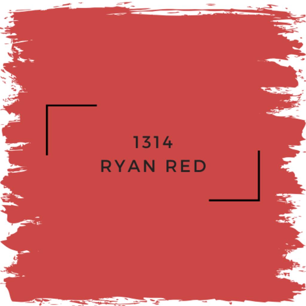 Benjamin Moore 1314 Ryan Red