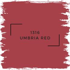 Benjamin Moore 1316 Umbria Red