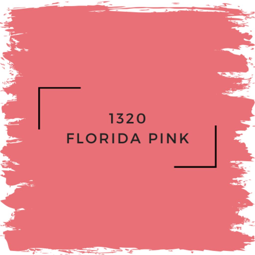 Benjamin Moore 1320 Florida Pink