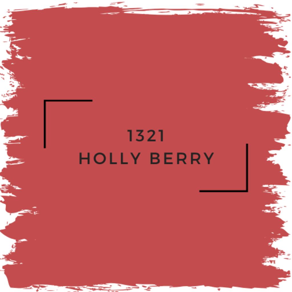Benjamin Moore 1321 Holly Berry