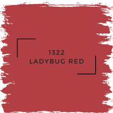 Benjamin Moore 1322 Ladybug Red