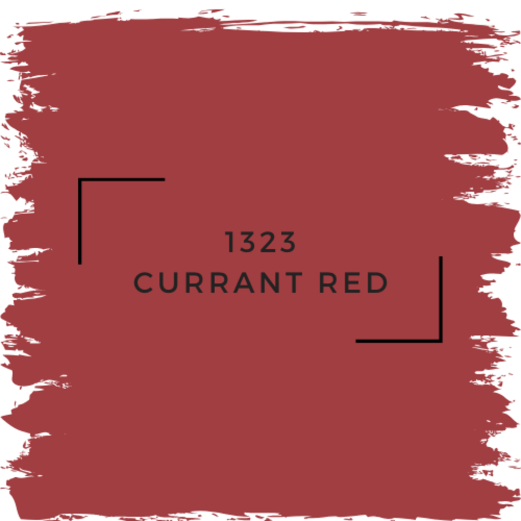 Benjamin Moore 1323 Currant Red