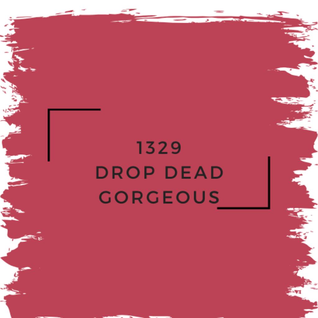 Benjamin Moore 1329 Drop Dead Gorgeous