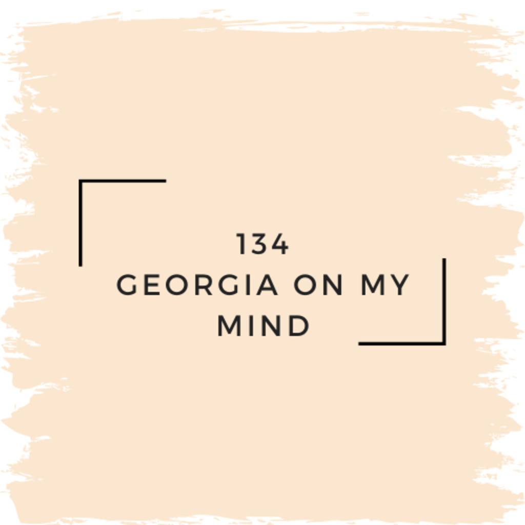 Benjamin Moore 134 Georgia On My Mind