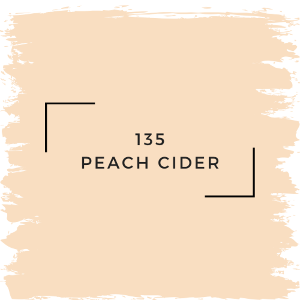 Benjamin Moore 135 Peach Cider