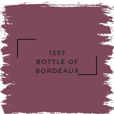 Benjamin Moore 1357 Bottle Of Bordéaux