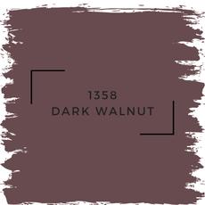 Benjamin Moore 1358 Dark Walnut