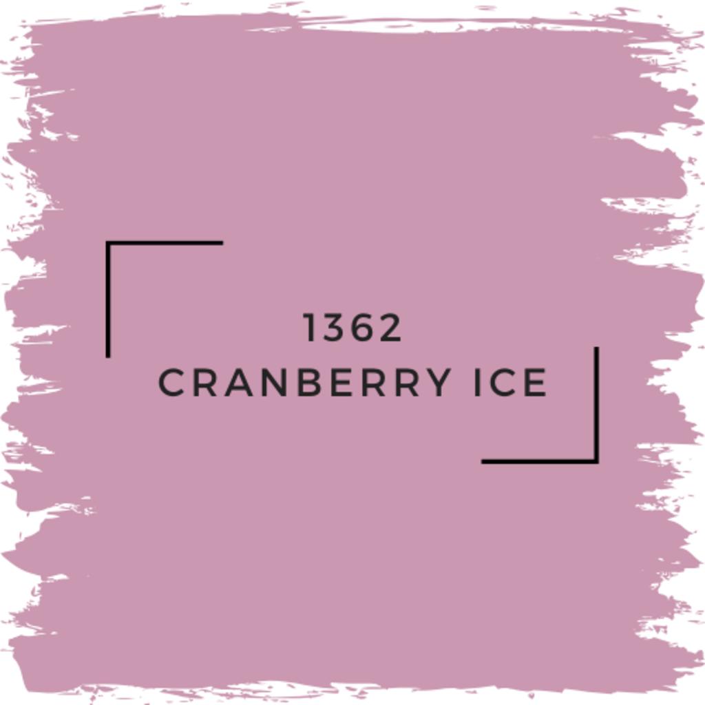 Benjamin Moore 1362 Cranberry Ice