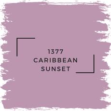 Benjamin Moore 1377 Caribbean Sunset