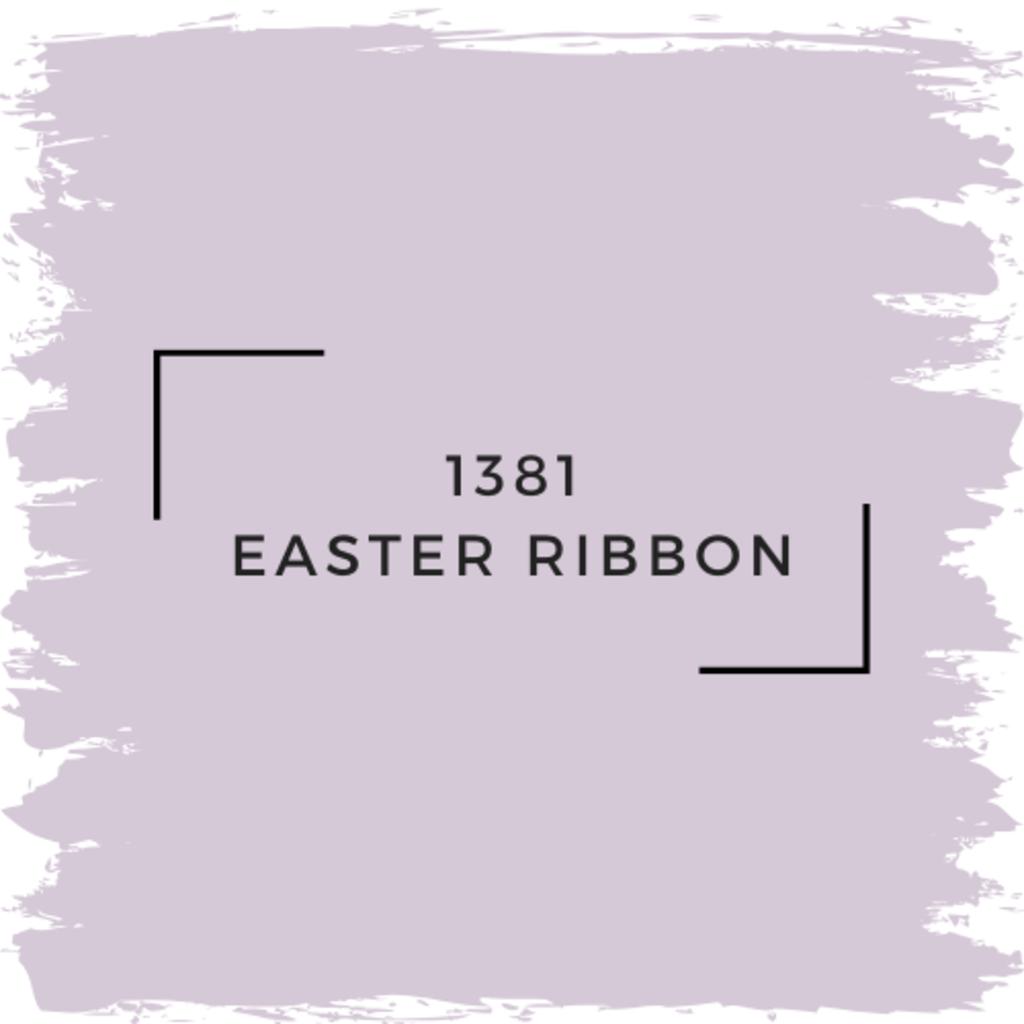 Benjamin Moore 1381 Easter Ribbon