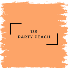Benjamin Moore 139 Party Peach