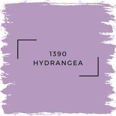 Benjamin Moore 1390 Hydrangea