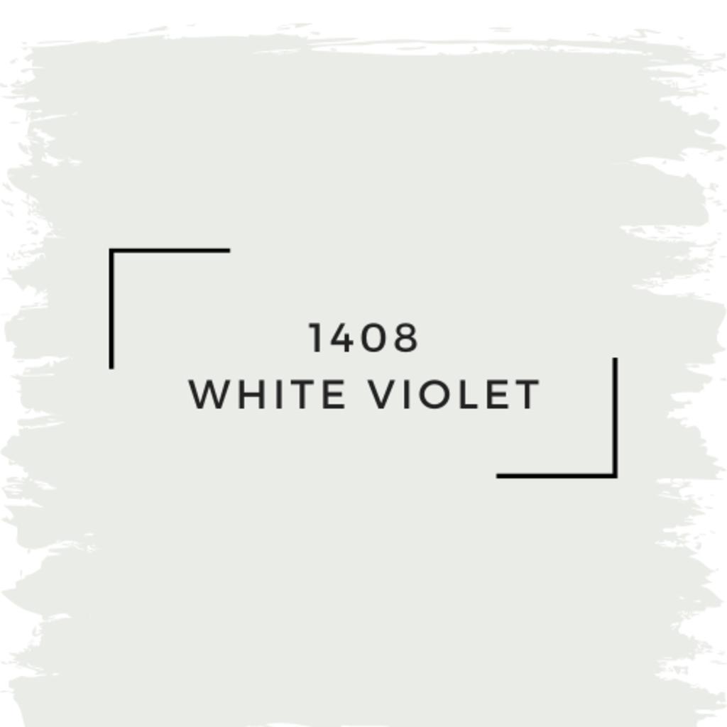 Benjamin Moore 1408 White Violet