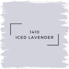 Benjamin Moore 1410 Iced Lavender