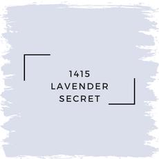 Benjamin Moore 1415 Lavender Secret