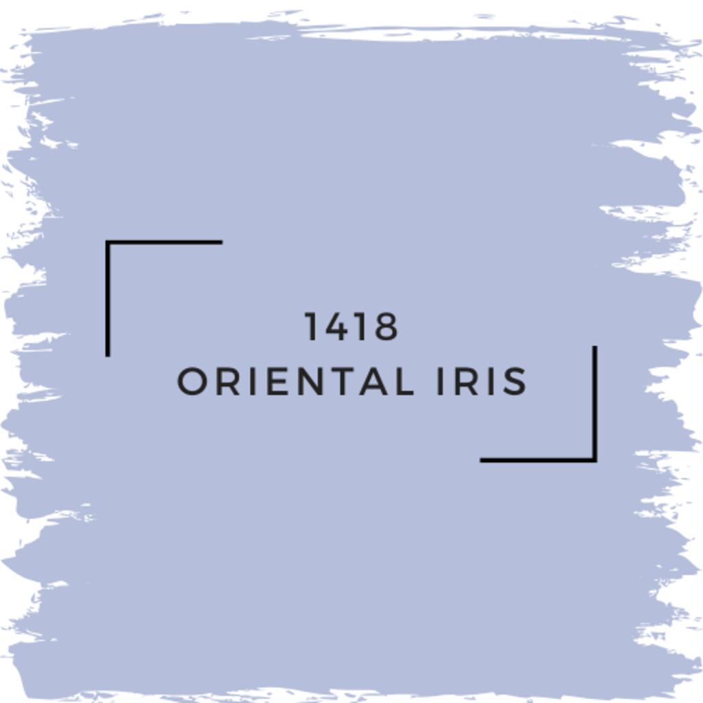 Benjamin Moore 1418 Oriental Iris