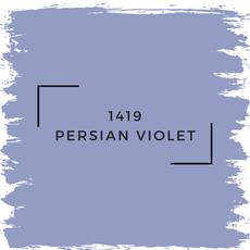 Benjamin Moore 1419 Persian Violet