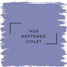 Benjamin Moore 1420 Softened Violet