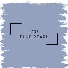 Benjamin Moore 1433 Blue Pearl