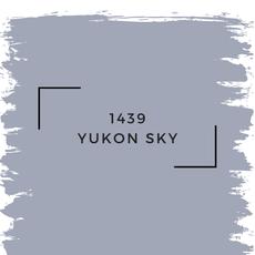 Benjamin Moore 1439 Yukon Sky