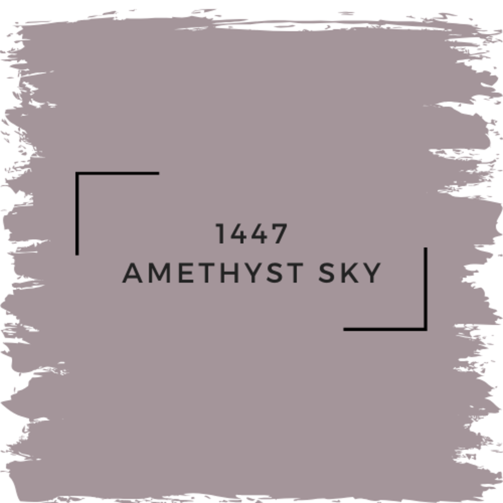 Benjamin Moore 1447 Amethyst Sky