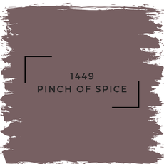 Benjamin Moore 1449 Pinch Of Spice
