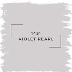 Benjamin Moore 1451 Violet Pearl
