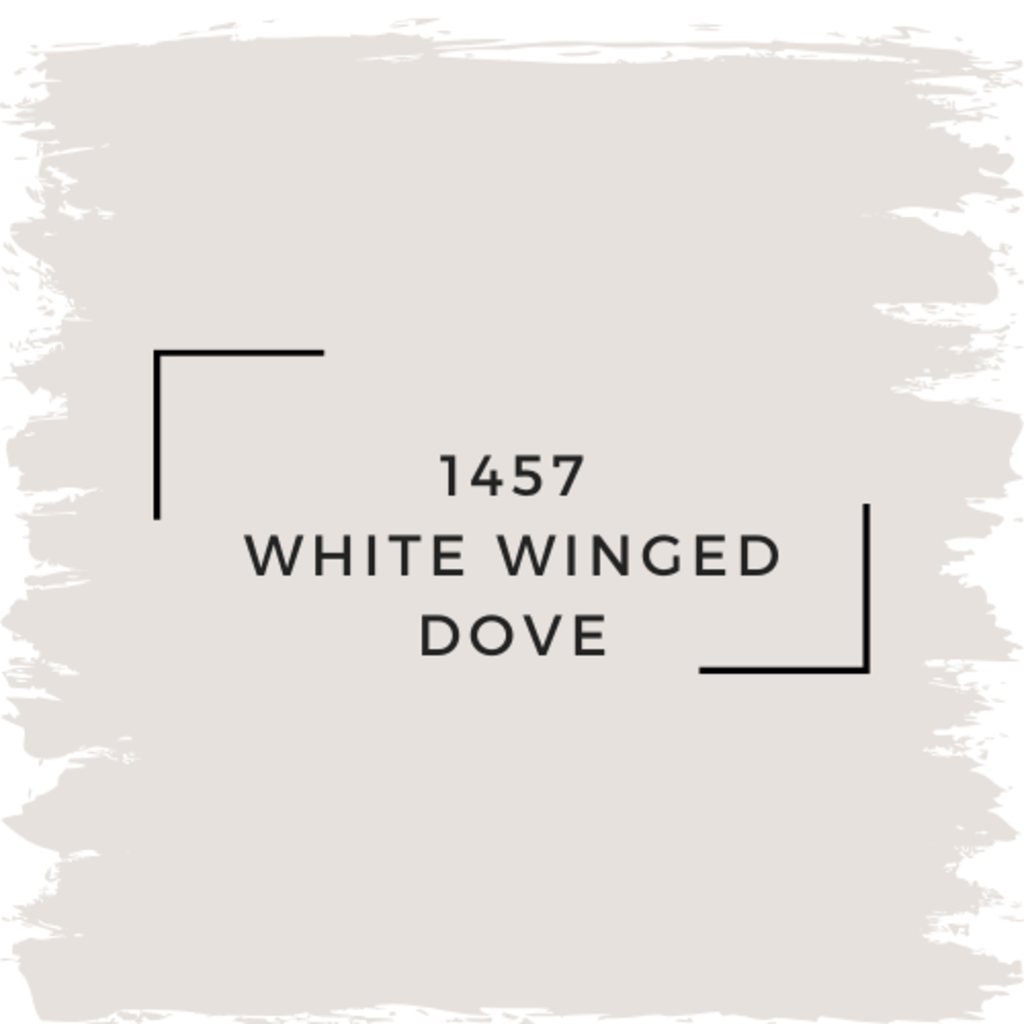 Benjamin Moore 1457 White Winged Dove