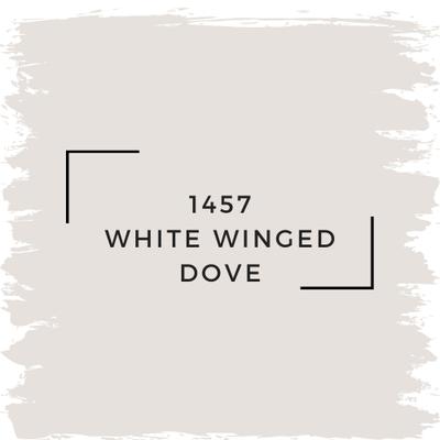 Benjamin Moore 1457 White Winged Dove