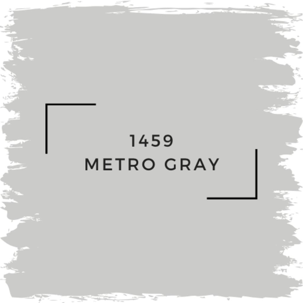 Benjamin Moore 1459 Metro Gray