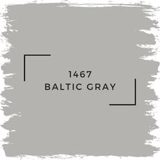 Benjamin Moore 1467 Baltic Gray