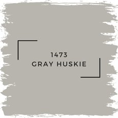 Benjamin Moore 1473 Gray Huskie
