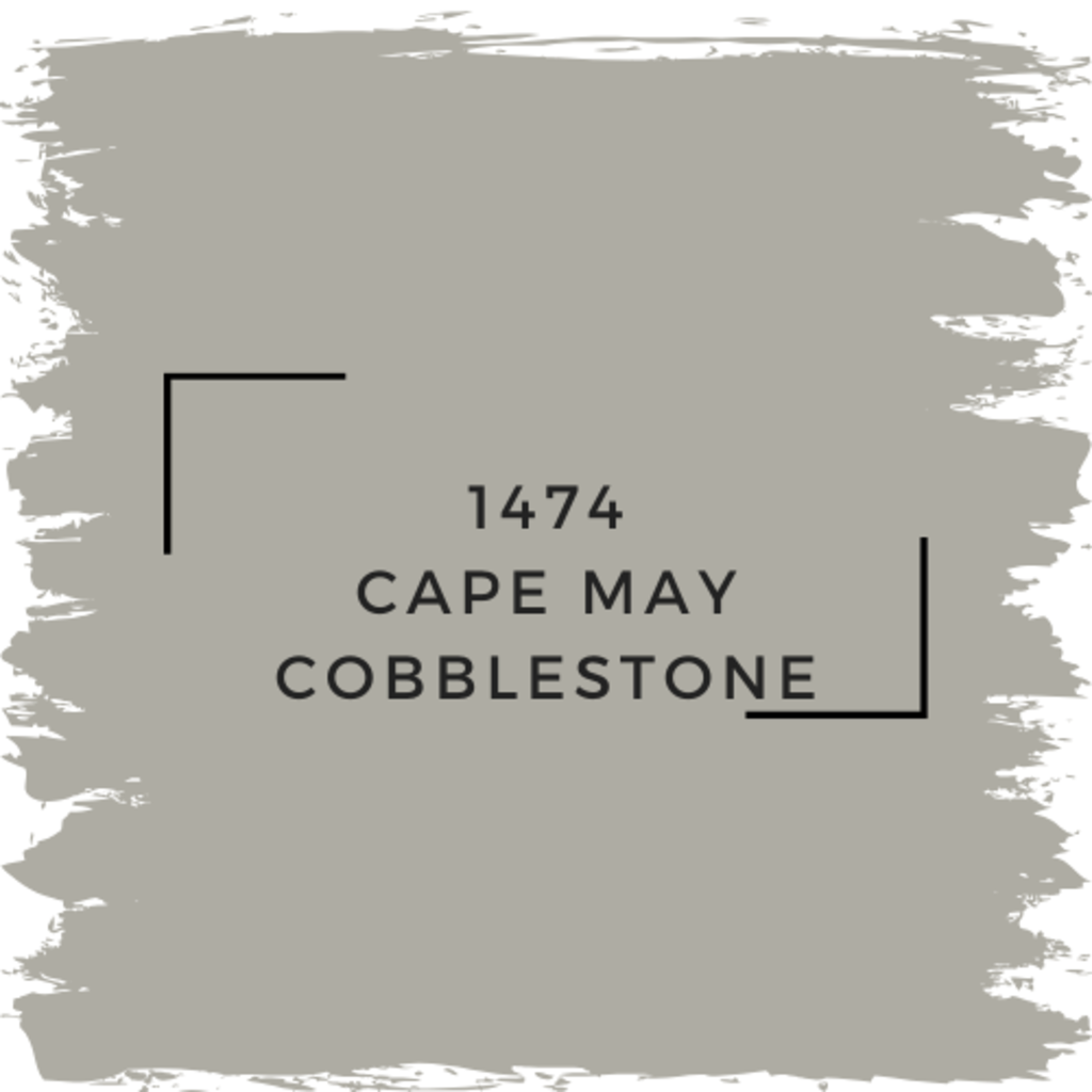 Benjamin Moore 1474 Cape May Cobblestone