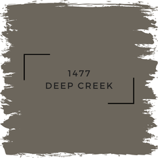 Benjamin Moore 1477 Deep Creek