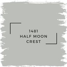 Benjamin Moore 1481 Half Moon Crest
