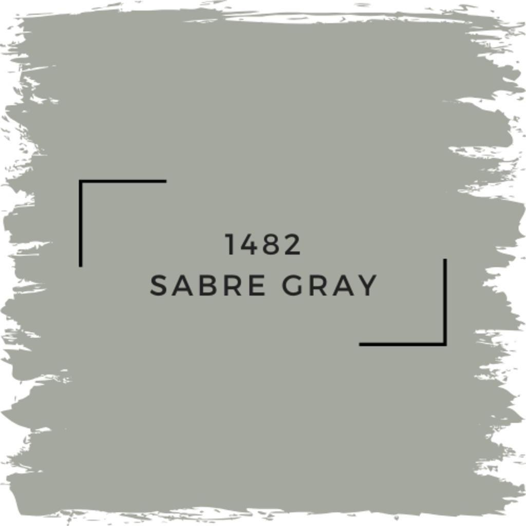 Benjamin Moore 1482 Sabre Gray