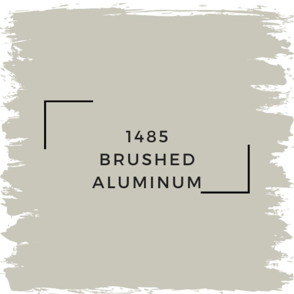 Benjamin Moore 1485 Brushed Aluminum